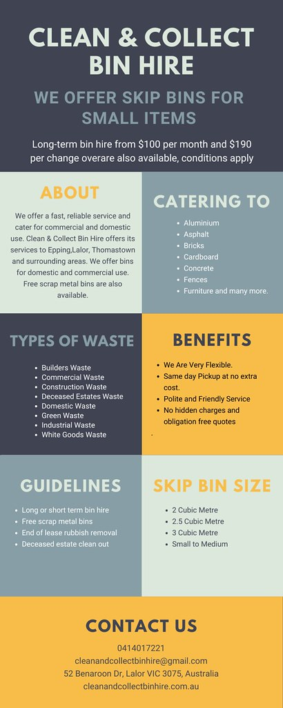 We are your one-stop solution for all kinds of waste types.