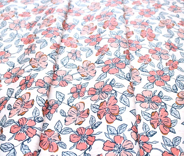 Art Gallery Fabrics Homebody Crafted Blooms Vanilla