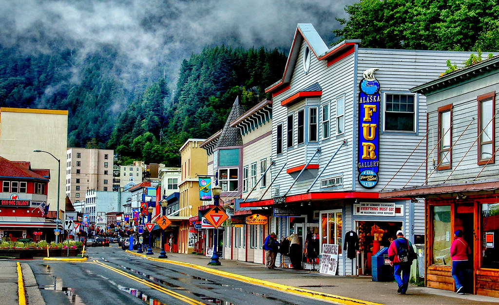 Juneau. Alaska.   The City and Borough of Juneau, commonly k…   Flickr