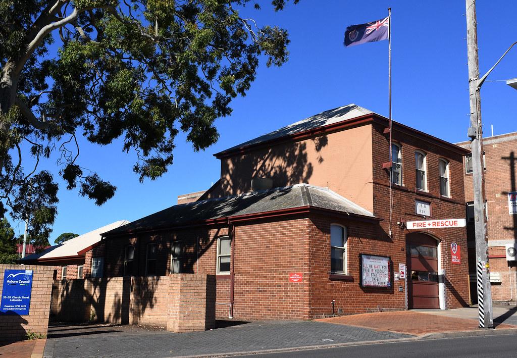 Fire Station, Lidcombe, Sydney, NSW.