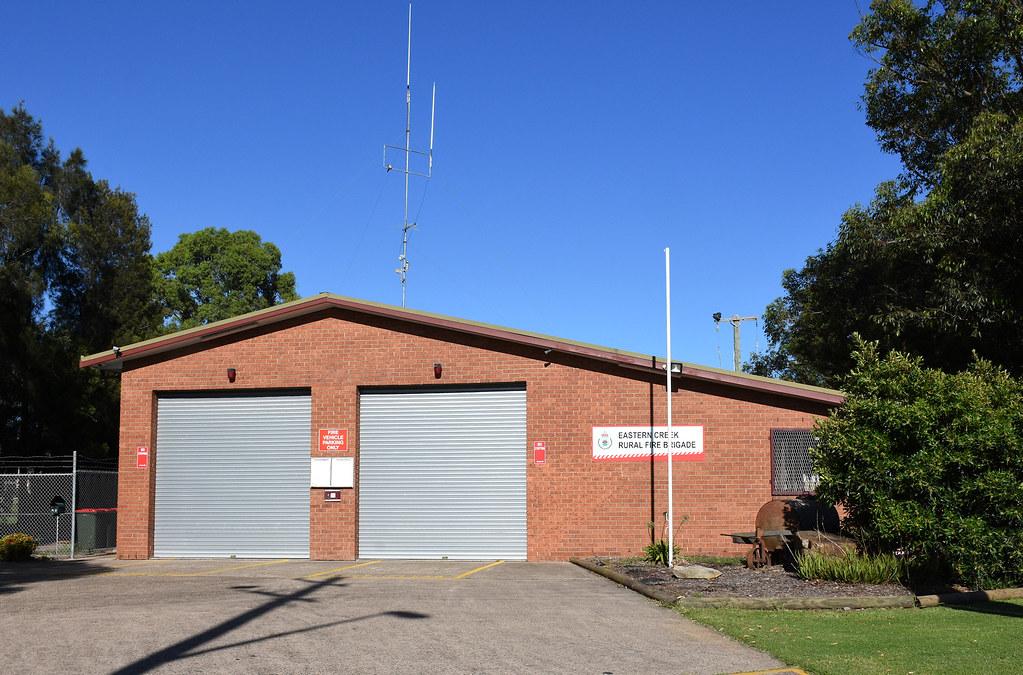 Eastern Ck Rural Fire Service, Eastern Ck, Sydney, NSW.