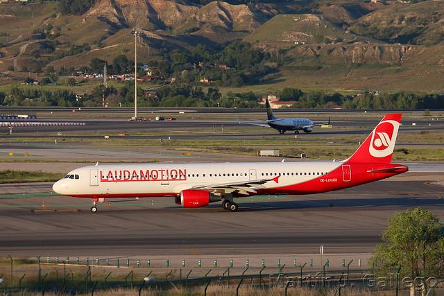 OE-LCK Hybrid Air Berlin/Laudamotion