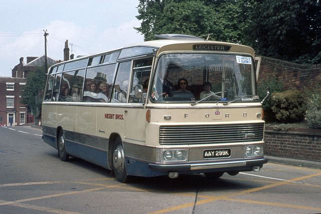 Nesbit Brothers . Somerby , Leicestershire . AAY299K . Colchester Bus Park , Essex . August-1973 .