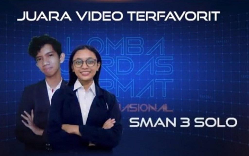 Juara Video Terfavorit Festival Ayo Membaca - SMAN 3 Solo