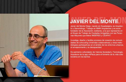 Javier del Monte, arquitecto y gerontólogo