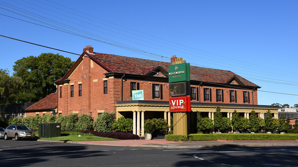 Wentworth Hotel, Flemington, Sydney, NSW.
