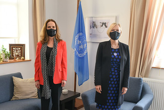 SRSG Spehar meets with French Ambassador | by unficyp-public-information-office