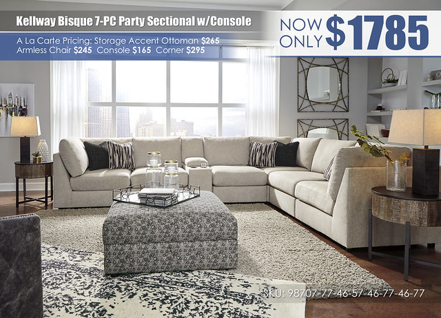 Kellway Bisque 7 PC Party Sectional_98707-77-46-57-46-77-46-77-11-T240-6
