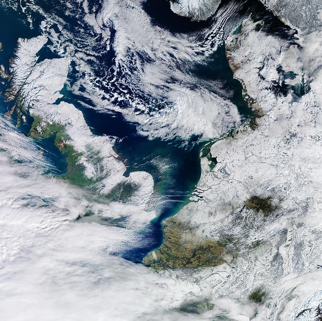 Netherlands in white
