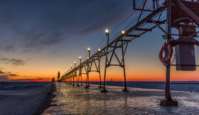 Sunset at the pier......