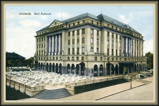 8182 R Zagreb Hotel Esplanade 193 Naklada S. Marković Ilica 5 sent 24.VII.1926. Croatia