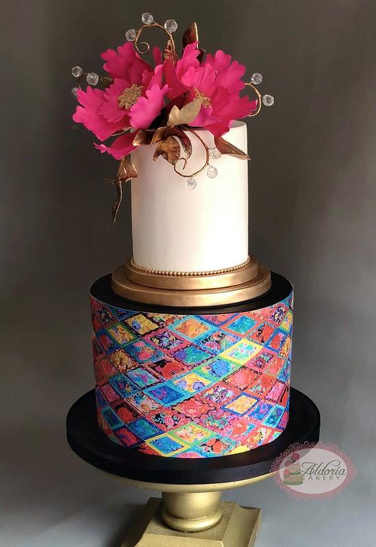 Cake by Aldoria Cakery