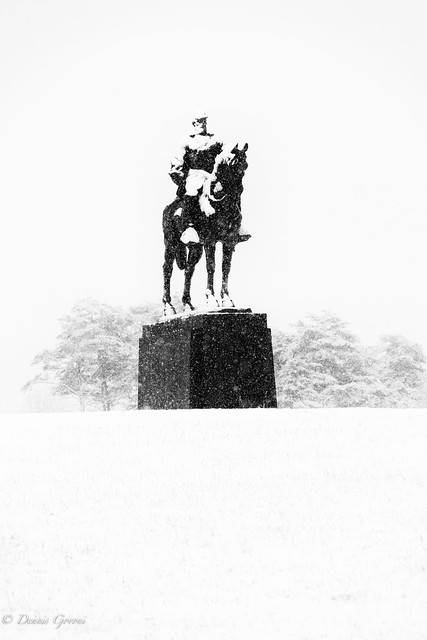 Stonewall Jackson in a Snow Storm