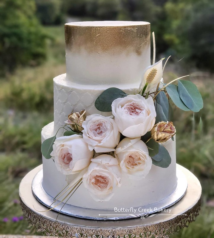 Cake by The Butterfly Creek Bakery