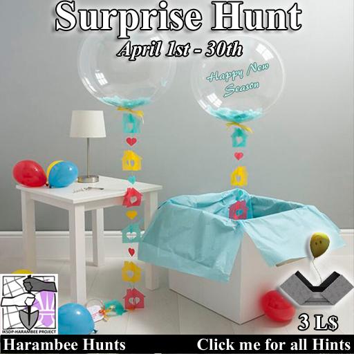 Surprise Hunt [April 1st - April 30th]