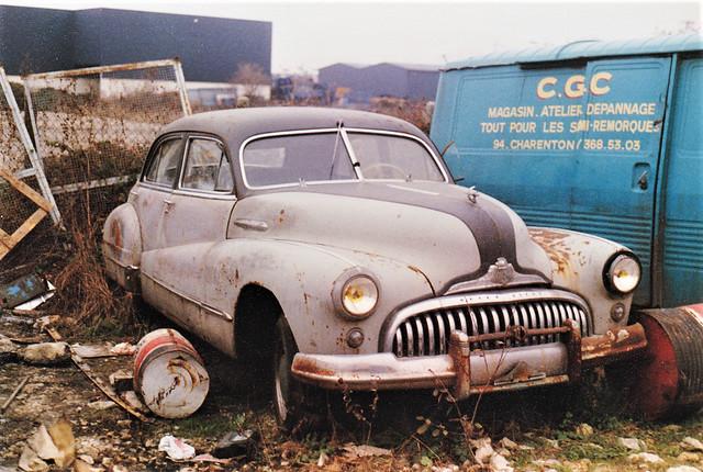 Buick Super Sedan 1948 Bonneuil sur Marne (94 Val de Marne) 1991a