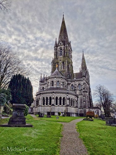 churchexterior ireland cork saintfinbarrescathedral cathedral church clouds path