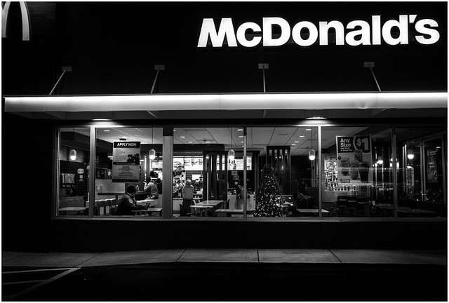 McDonald's Pre Dawn Visit