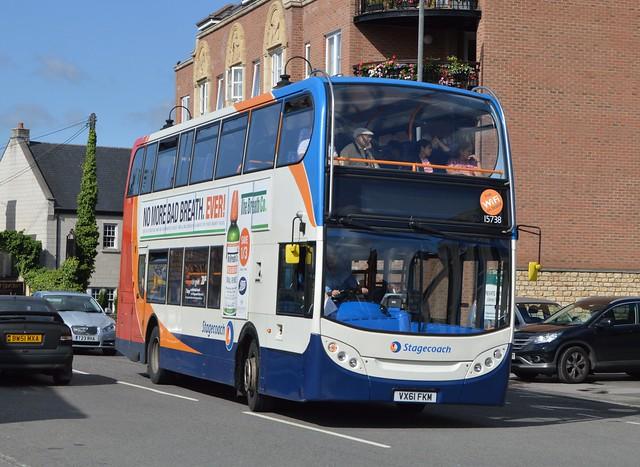 15738. VX61 FKM: Cheltenham & Gloucester