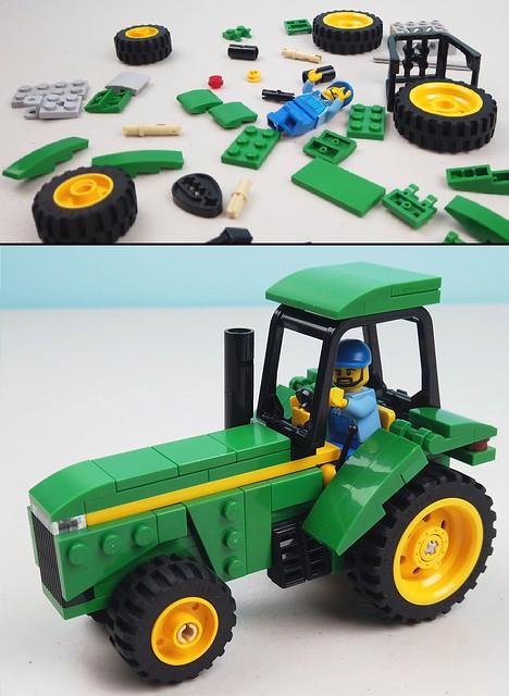 LEGO Tractor Tutorial