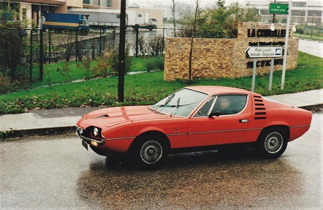 Alfa Romeo Montreal Rue du Gravier du Bac St Thibault des Vignes (77 Seine et Marne) 10-11-93a
