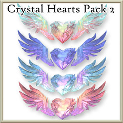 Crystal Heart Packs Now At The Mainstore!!