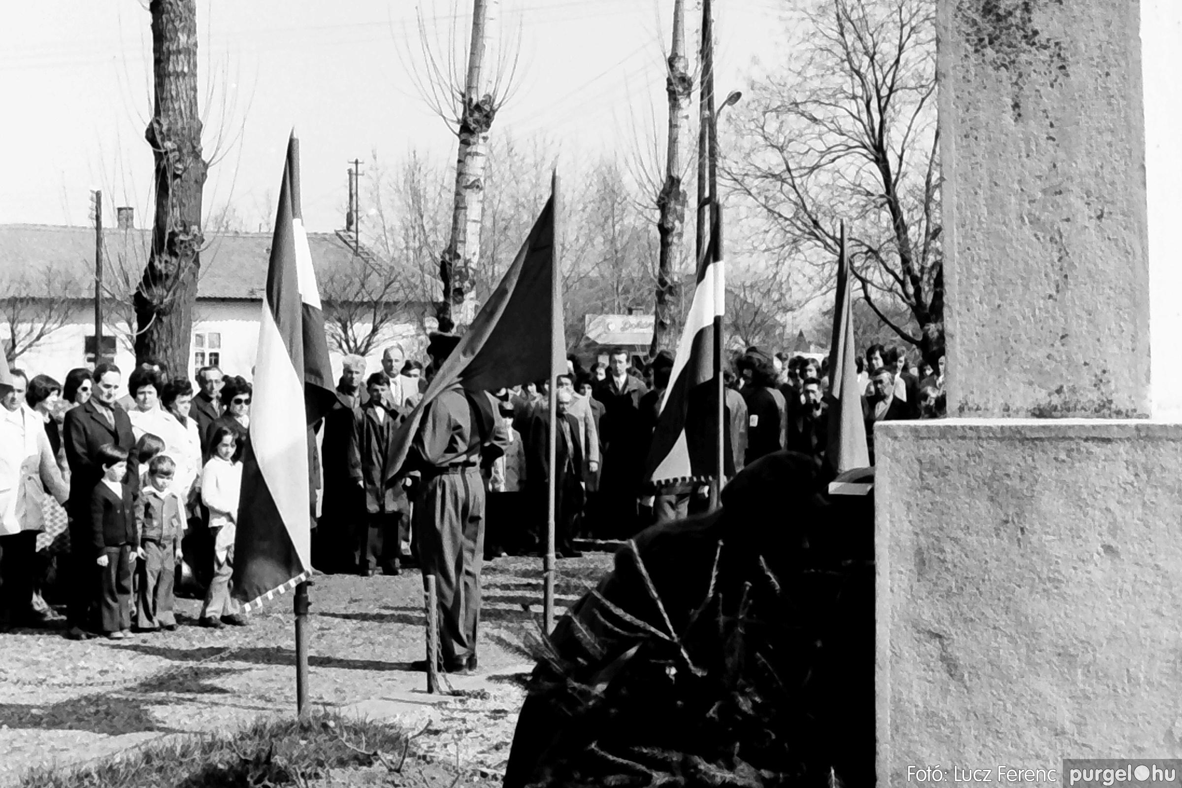 040. 1976.04.04. Április 4-i ünnepség 017. - Fotó: Lucz Ferenc - IMG00230q.jpg