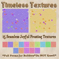 TT 15 Seamless Joyful Frosting Timeless Textures