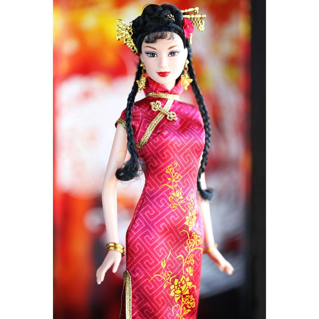 Chinese New Year Barbie