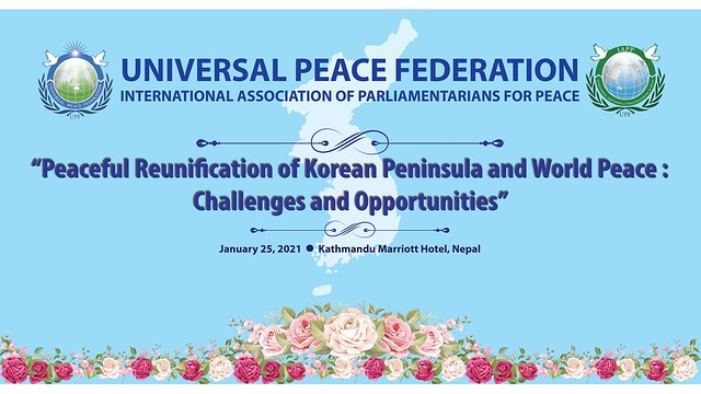 Nepal-2021-01-25-Nepal Conference Discusses Challenges, Opportunities for Korean Reunification