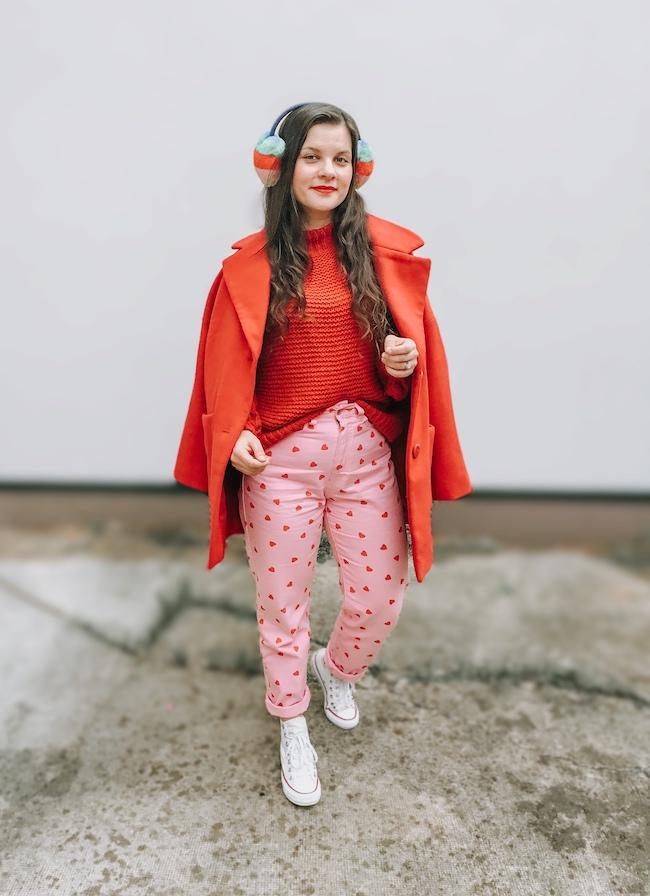 Mes conseils pour porter de la couleur en hiver