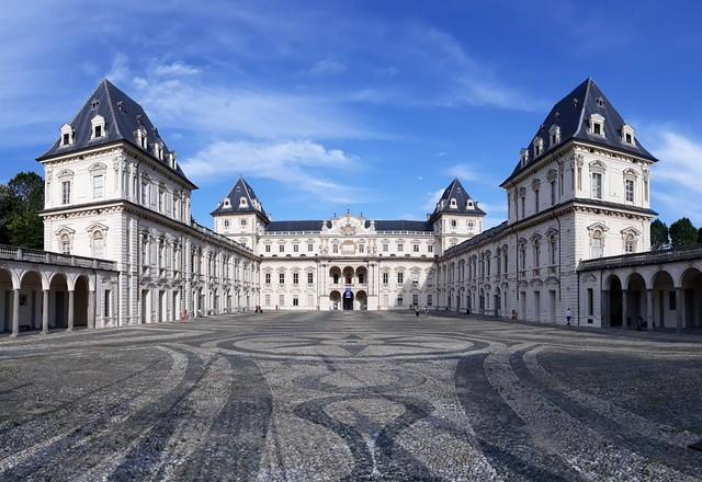 Castello del Valentino. Carlo e Amedeo di Castellamonte (1621-1660). Torino, Italia.