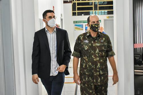 11.2.2021 - Prefeitura e 12ª Região Militar discutem novo posto de alistamento e dispensa