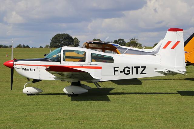 F-GITZ  -  American-General AG-5B Tiger c/n 10140  -  EGBL 1/9/19