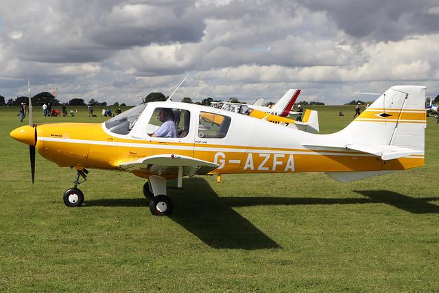 G-AZFA  -  Beagle B.121 Pup 150 c/n B121-143  -  EGBK 1/9/19