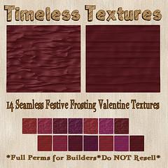 TT 14 Seamless Festive Frosting Valentine Timeless Textures