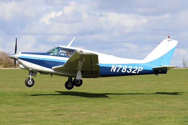 N7832P  -  Piper PA-24-250 Comanche c/n 24-3052  -  EGBK 1/9/19