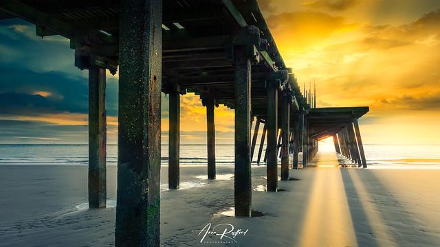 Lowestoft Pier Sunrise