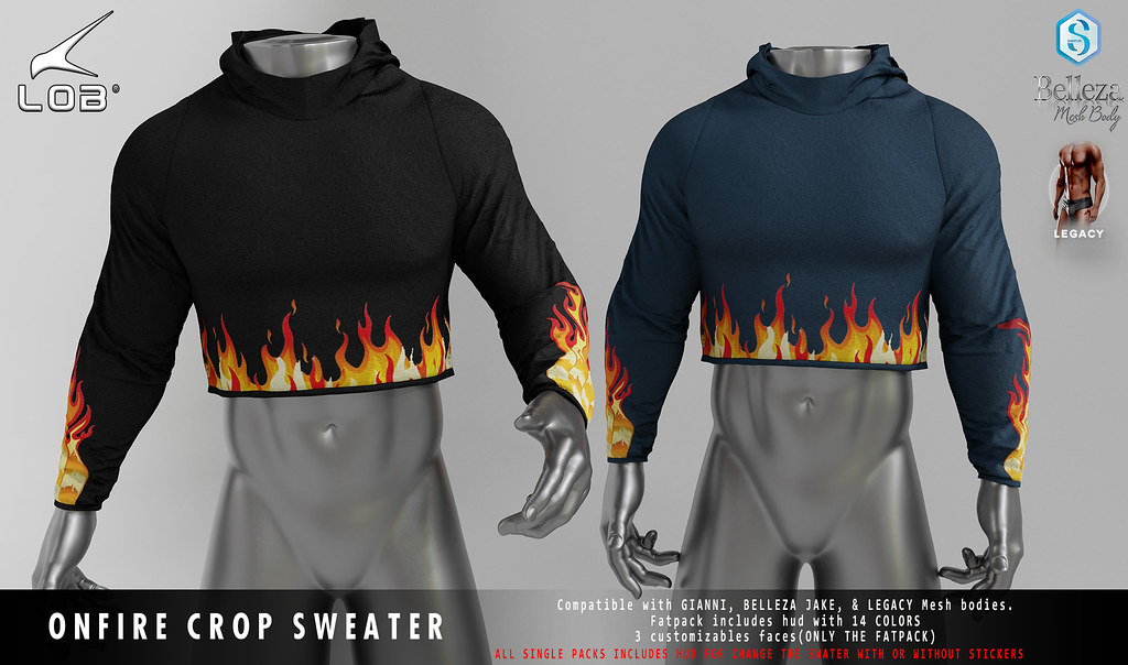 [LOB] ONFIRE CROP TOP