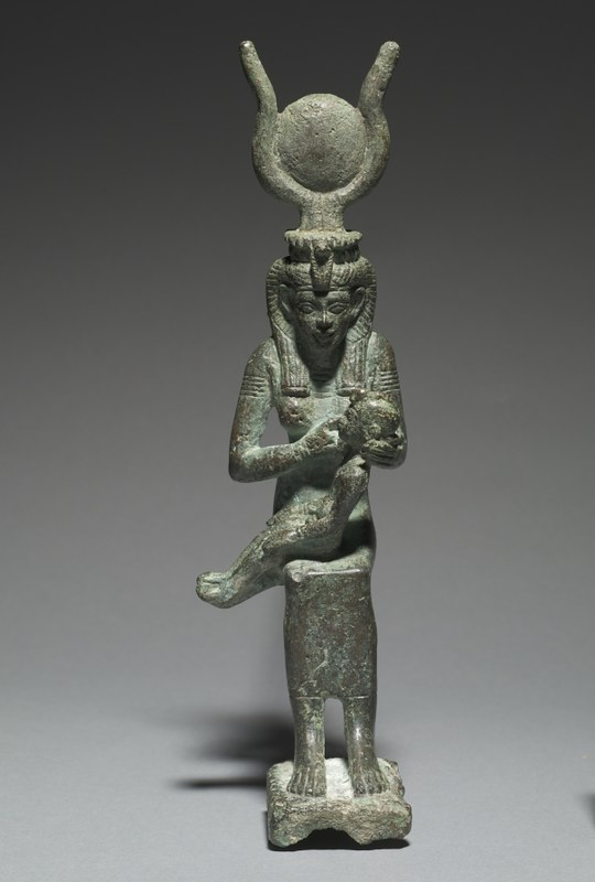 Statuette of Isis and Horus_1993.110_web