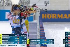 Sám sobě biatlonovým komentátorem aneb vyzkoušejte si práci TV experta. Case study: štafeta žen 4x6 km ve SP v Anterselvě (24.1.2021)