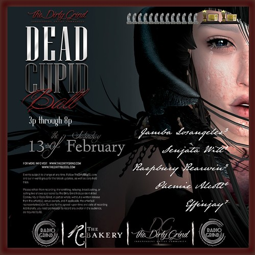 Dead Cupid Ball 2021 @ The Dirty Grind Independent Artist Community 13 February 3-9 | by Lisa Buttmonkey (Lisa Littlepaws) The Dirty Grind