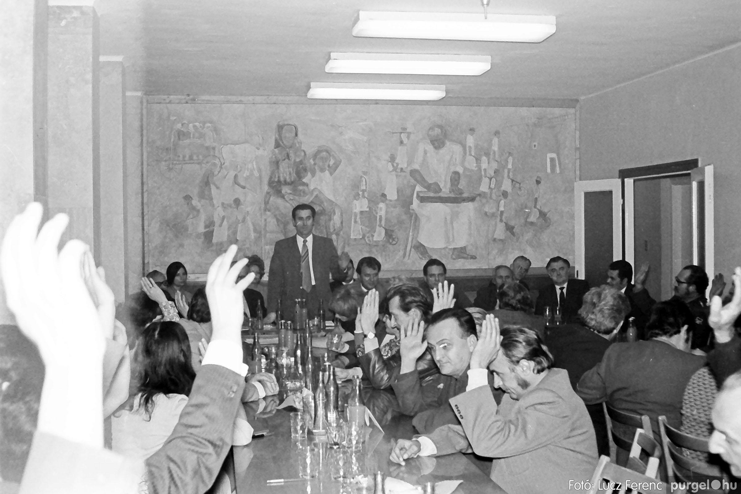 031. 1976. Rendezvény a pártházban 006 - Fotó: Lucz Ferenc.jpg
