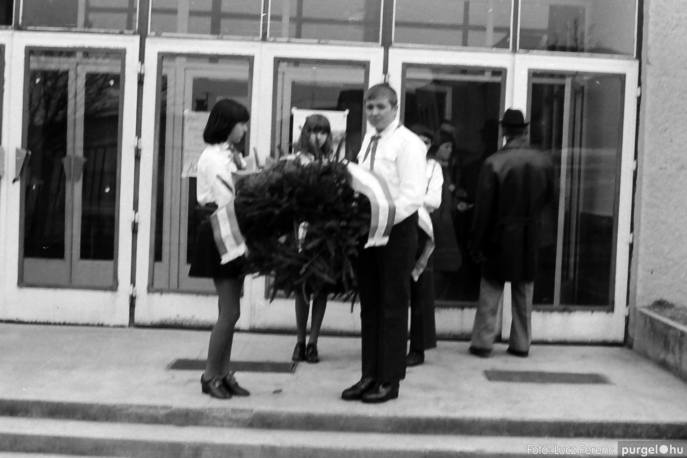 043. 1976. Emlékezés a szegvári direktóriumra 003. - Fotó: Lucz Ferenc - IMG00263q.jpg