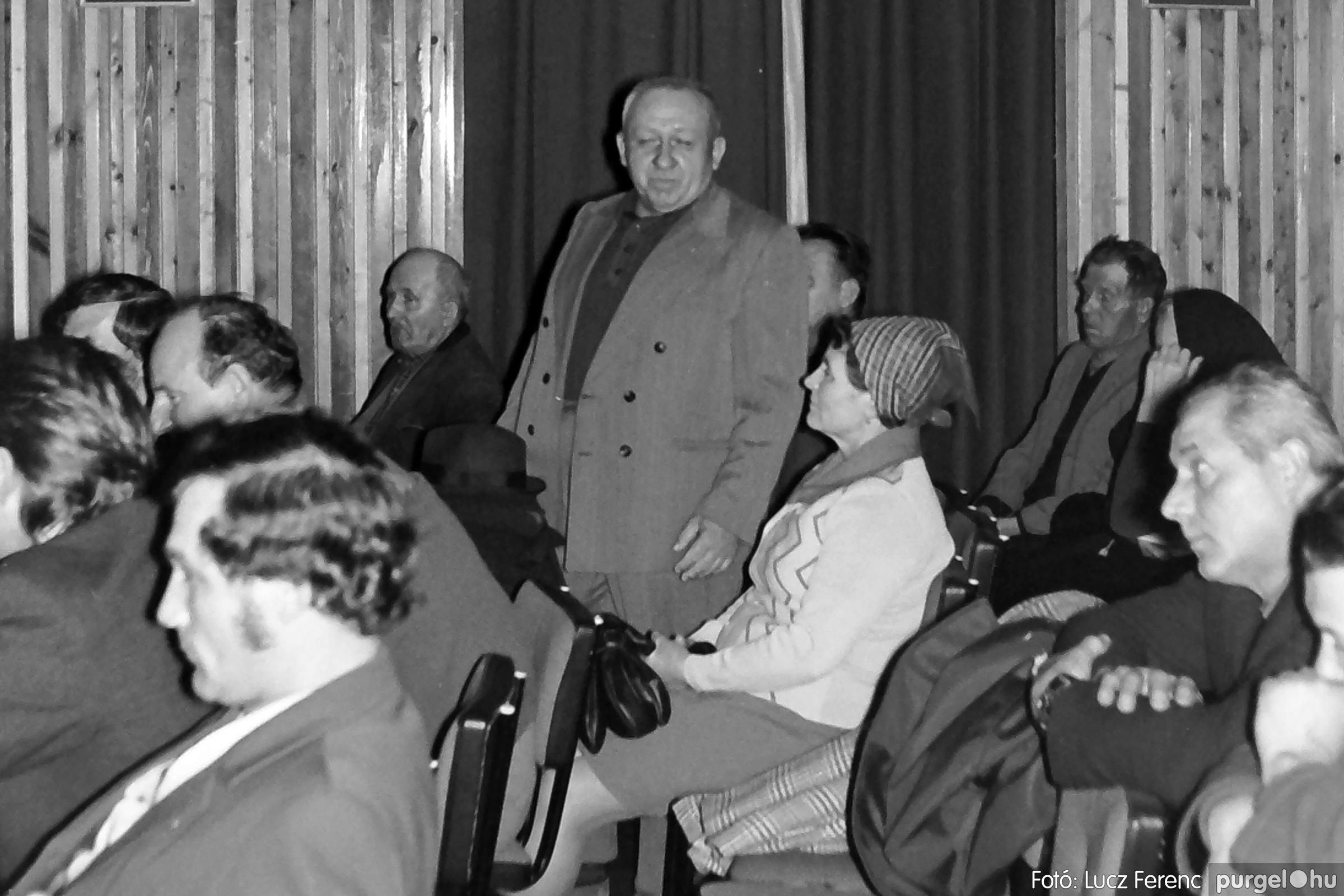 043. 1976. Rendezvény a kultúrházban 009. - Fotó: Lucz Ferenc - IMG00286q.jpg