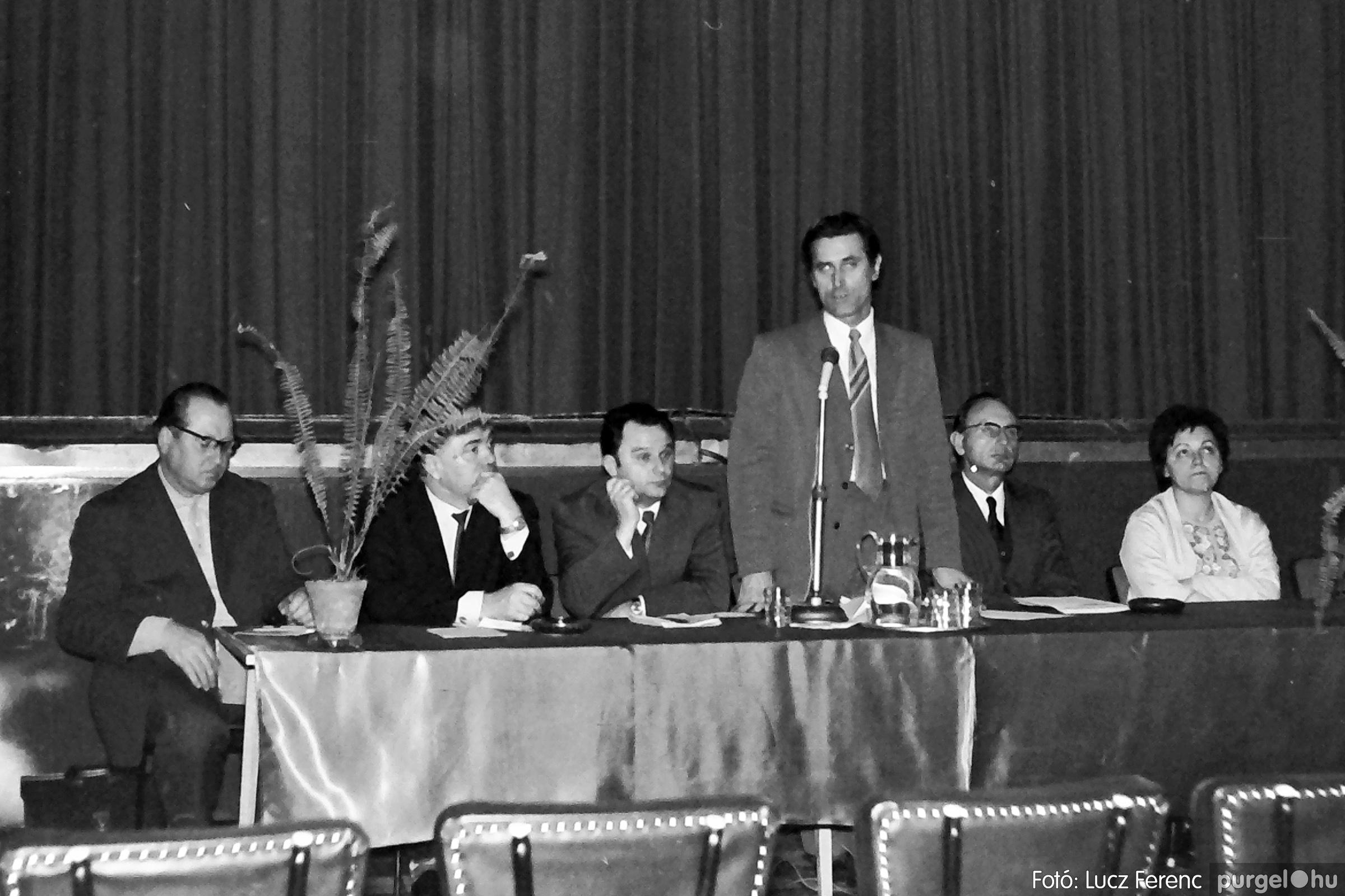 043. 1976. Rendezvény a kultúrházban 006. - Fotó: Lucz Ferenc - IMG00283q.jpg
