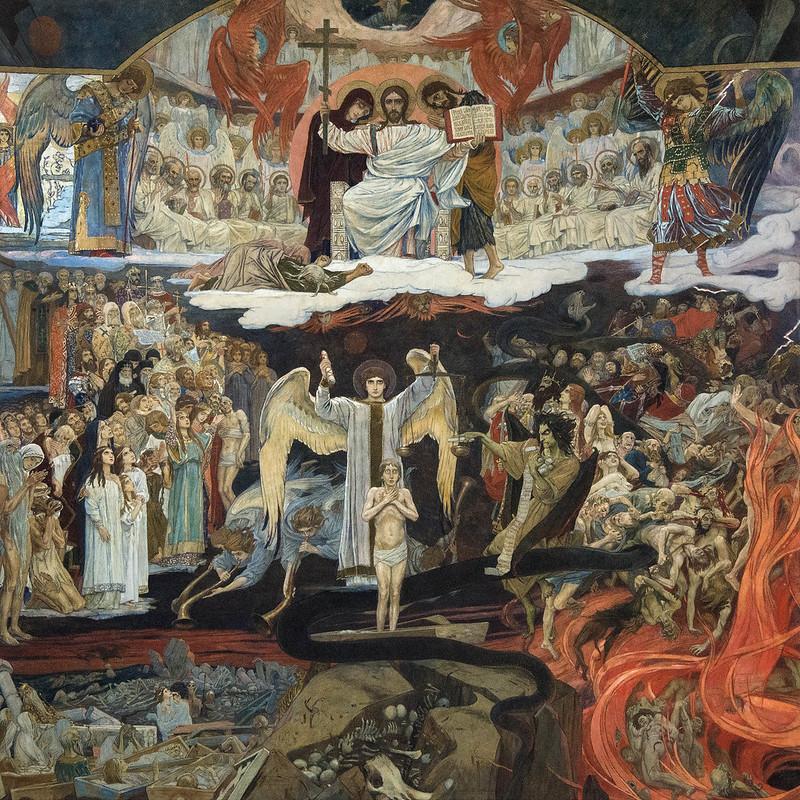 Viktor Vasnetsov - Last Judgement, 1904