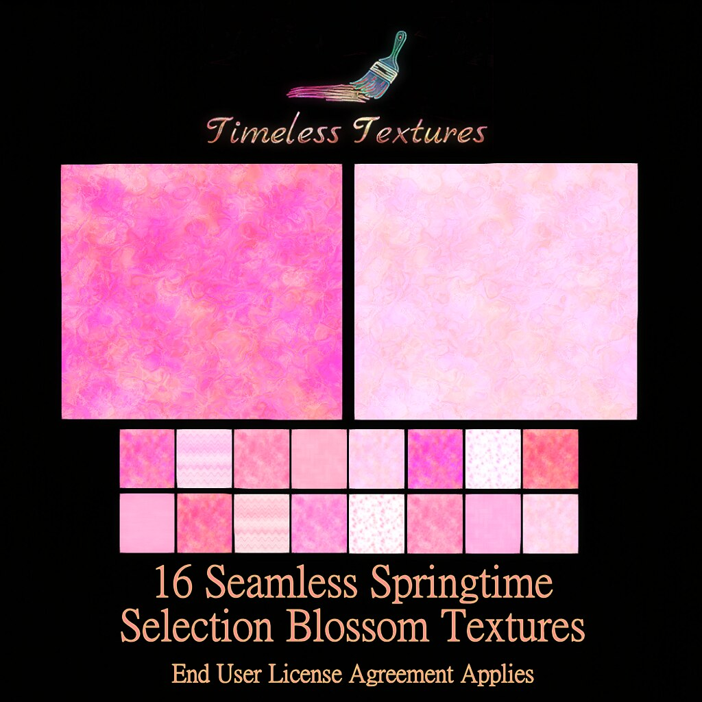 TT 16 Seamless Springtime Selection Blossom Timeless Textures