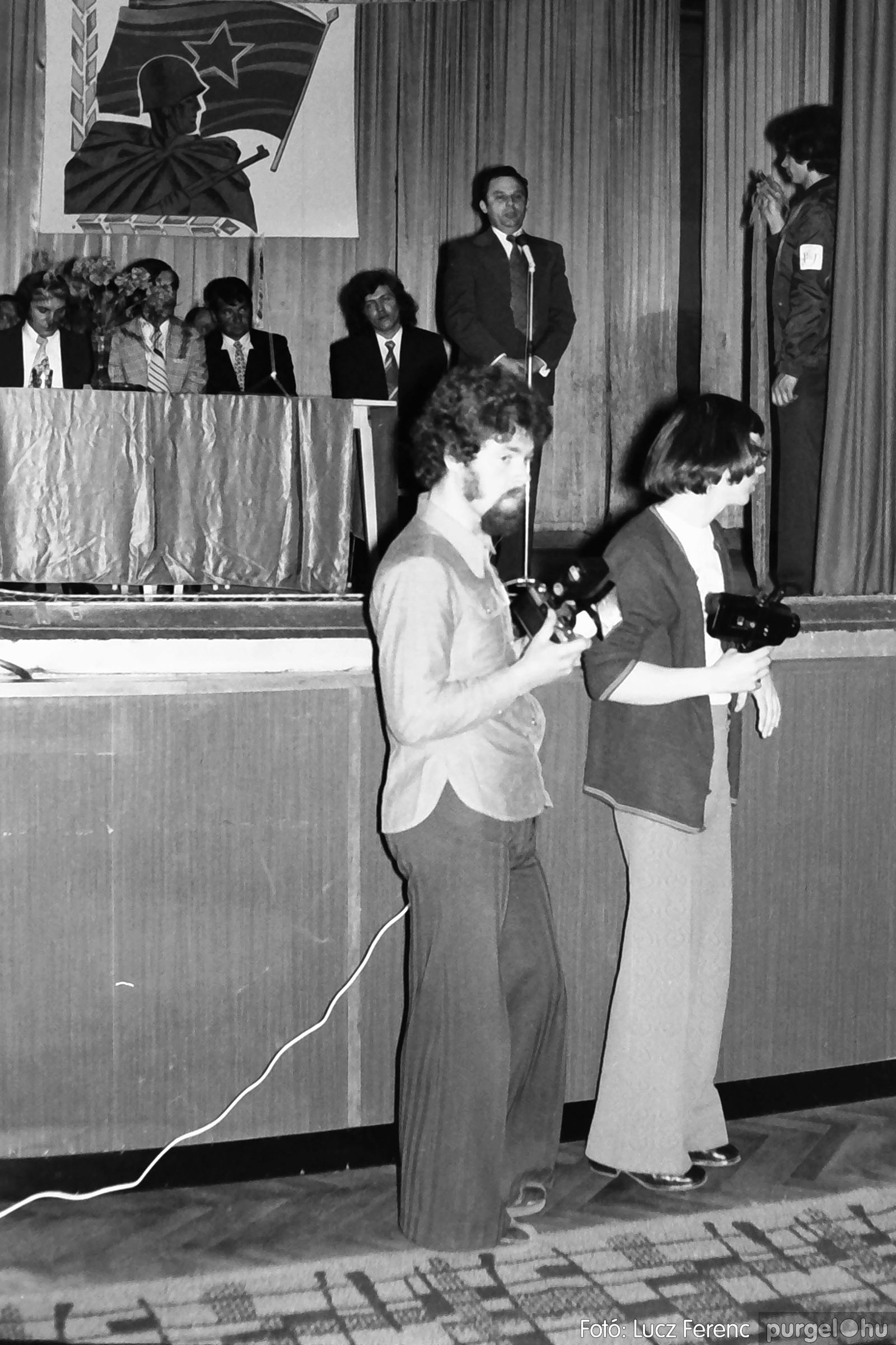 039. 1976.04.04. Április 4-i ünnepség a kultúrházban 013. - Fotó: Lucz Ferenc.jpg