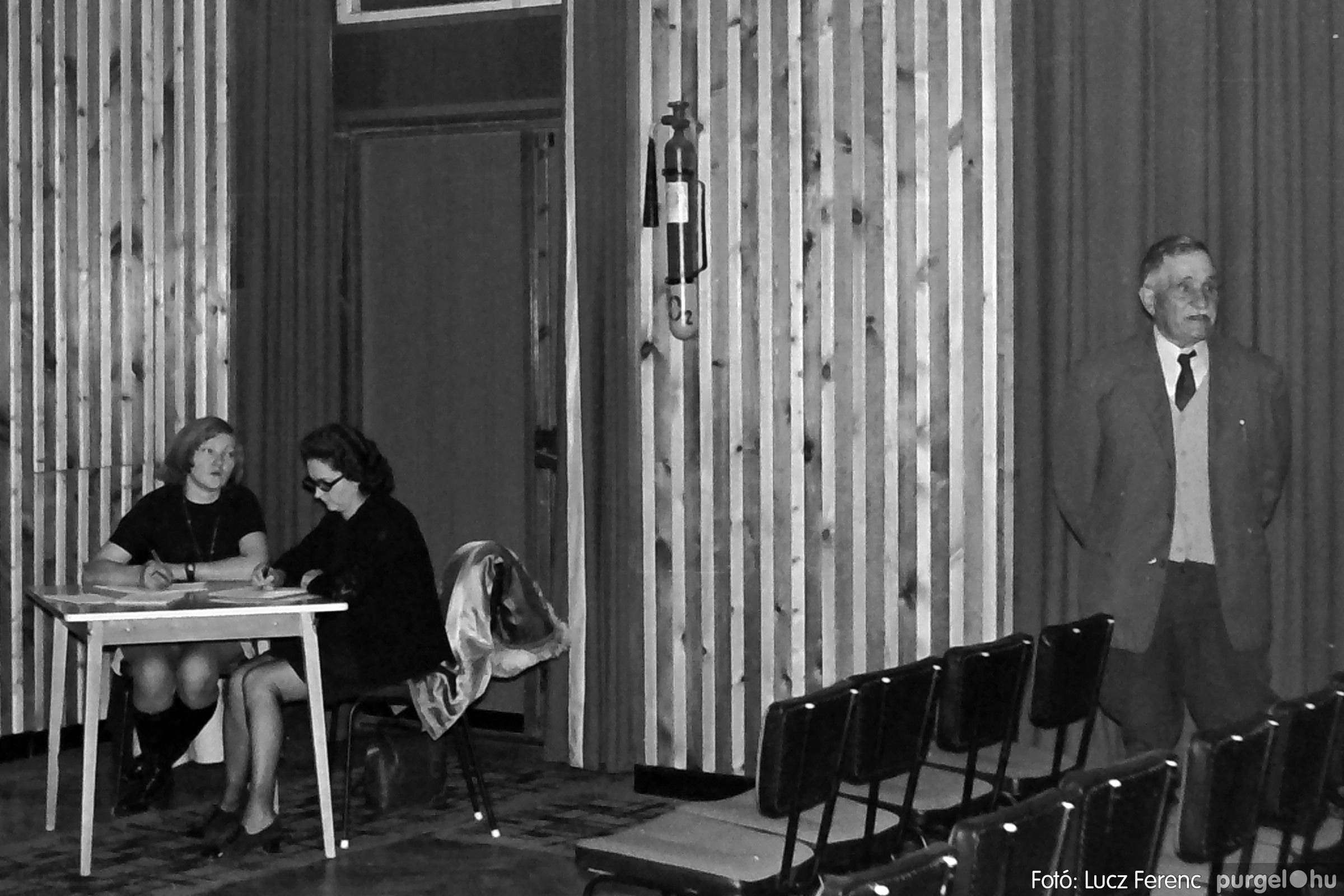 043. 1976. Rendezvény a kultúrházban 007. - Fotó: Lucz Ferenc - IMG00284q.jpg
